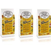 Caffè Corsini Compagnia dell'Arabica Caffè Brasile 100% Arabica Caffè Torrefatto e Macinato Vellutato e Avvolgente…
