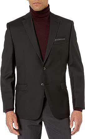 Calvin Klein mensJOTAPJ8Z0200Modern Fit Suit Separates - Custom Jacket & Pant Size Selection Long Sleeve Suit Jacket
