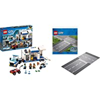 LEGO Mobile Command Center and Straight and T-Junction Building Block Combo