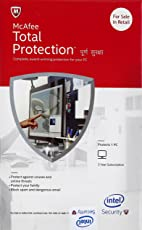 McAfee Total Protection - 1 PC, 3 Years (CD)