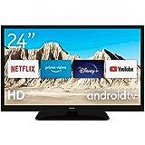 Nokia Mini Smart TV 24 Inch Android TV (HD Ready, AV Stereo, WiFi, 12 Volt, Triple Tuner - DVB-C/S2/T2, Netflix, Prime Video,