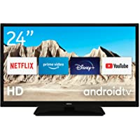 Nokia Smart TV 2400A 24 Zoll (60 cm) LED Fernseher (HD, AV Stereo, Dynamic Contrast, Sprachassistent, Triple Tuner – DVB…