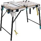 wolfcraft I Master cut 2600 I 6918000 I multifunctionele mobiele machinetafel I machinetafel compatibel met vele machines I i