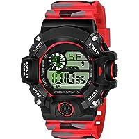 SWADESI STUFF Digital Boy's Watch (Black Dial, Multicolored Strap)