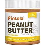 Pintola All Natural Honey Peanut Butter (Crunchy) (350g)