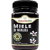 Miel de Manuka 800+ MGO 500g. Producida en Nueva Zelanda, activa y cruda, 100% pura y natural. Metilglioxial probado por labo