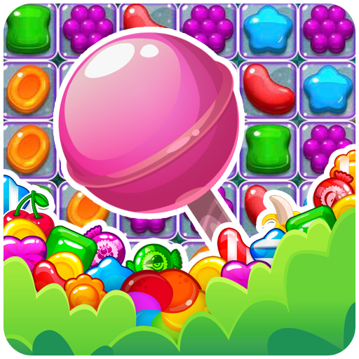 Candy Match 3 Puzzle (Farm Animal Gummies)