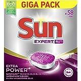 SUN All-in 1 Expert Vaatwastabletten Extra Power Normaal - 58 tabletten