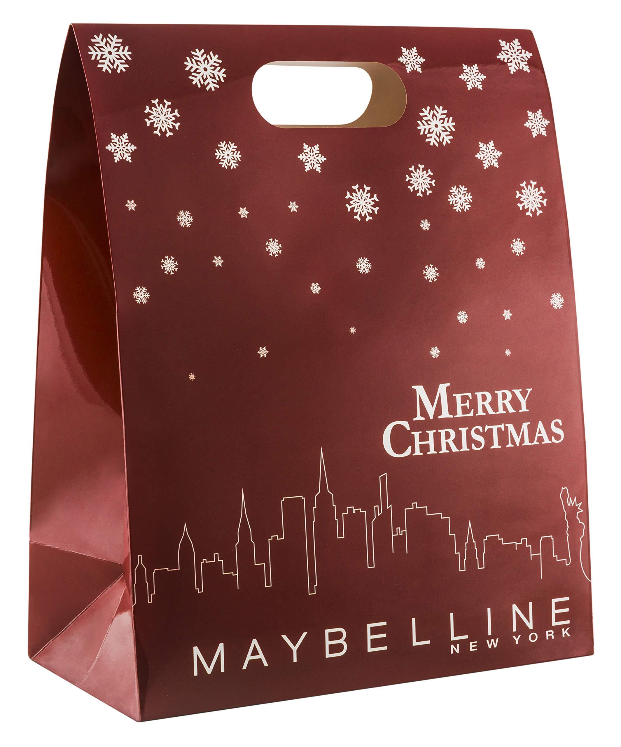 Maybelline New York Adventskalender, Do-It-Yourself, mit 24 Beauty Produkten, Tüten und Aufklebern zum Selbstbefüllen…
