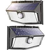 300 LED Luci Solari Esterno, Luce Solare con Sensore di Movimento, 270ºIlluminazione wireless Lampada Solare per Giardino, Pa
