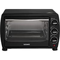 Amazon Brand - Solimo 18-Litre Oven Toaster Grill (Black)
