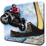unmöglich Mega Rampe Motorrad Fahrrad Fahrer: Superheld 3D frei