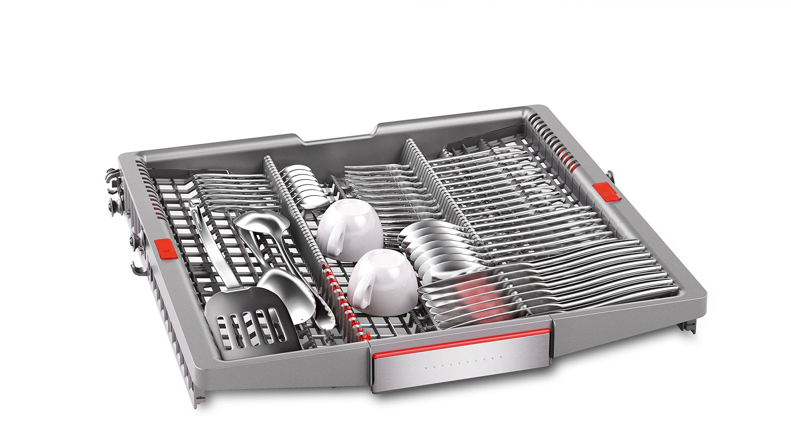 Bosch SMU88TS36E Serie 8 Geschirrspüler 1.7 / A+++ / 211 kWh/Jahr / 2100 L/jahr / Startzeitvorwahl, Amazon Dash…