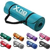 XN8 Yogamat antislip NBR 15mm oefenmat extra dik fitnessmat met draagriem gymnastiekmat milieuvriendelijk hoge dichtheid 183