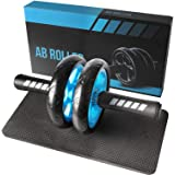 Quesuc Abdominal Wheel, Abdominal Wheel Ab Roller, Home Buikspier Workout Roller, Geschikt Voor Professionele Bodybuilders En