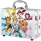 Paw Patrol - verzorgingsset en badplezier, speel- en beauty-koffer voor kinderen, 6-delig, met douchegel, spons en kleurrijke