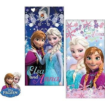 Frozen Eiskönigin Elsa Anna  Strandtuch Handtuch Kinder Strandlaken Olav