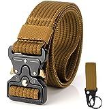 S.Lux Hombres Cinturón de Lona, YKK Hebilla de Plástico Cinturón de Secado Rápido Transpirable Hipoalergénico Cinturón Recrea