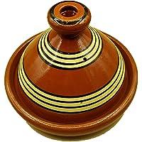 Ameublement Etnico Tajine 2001211029 Faitout Terre cuite Plat Marocain 25 cm