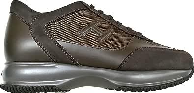 Hogan Scarpe Uomo Sneaker H3D Interactive HXM00N0I980E1I41LR Marrone
