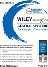 Wiley's ExamXpert General Aptitude for Campus Placements