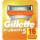 Gillette Fusion 5 Lamette di Ricambio per Rasoio Uomo, Confezione da 16 Lamette di Ricambio, Maxi Formato Pacchetto per Casel