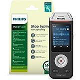 Philips VoiceTracer DVT2810, Registratore audio Con software di riconoscimento vocale Dragon, Nuance Dragon Recorder Edition