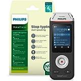 Philips VoiceTracer DVT2810, Registratore audio Con software di riconoscimento vocale Dragon, Nuance Dragon Recorder…