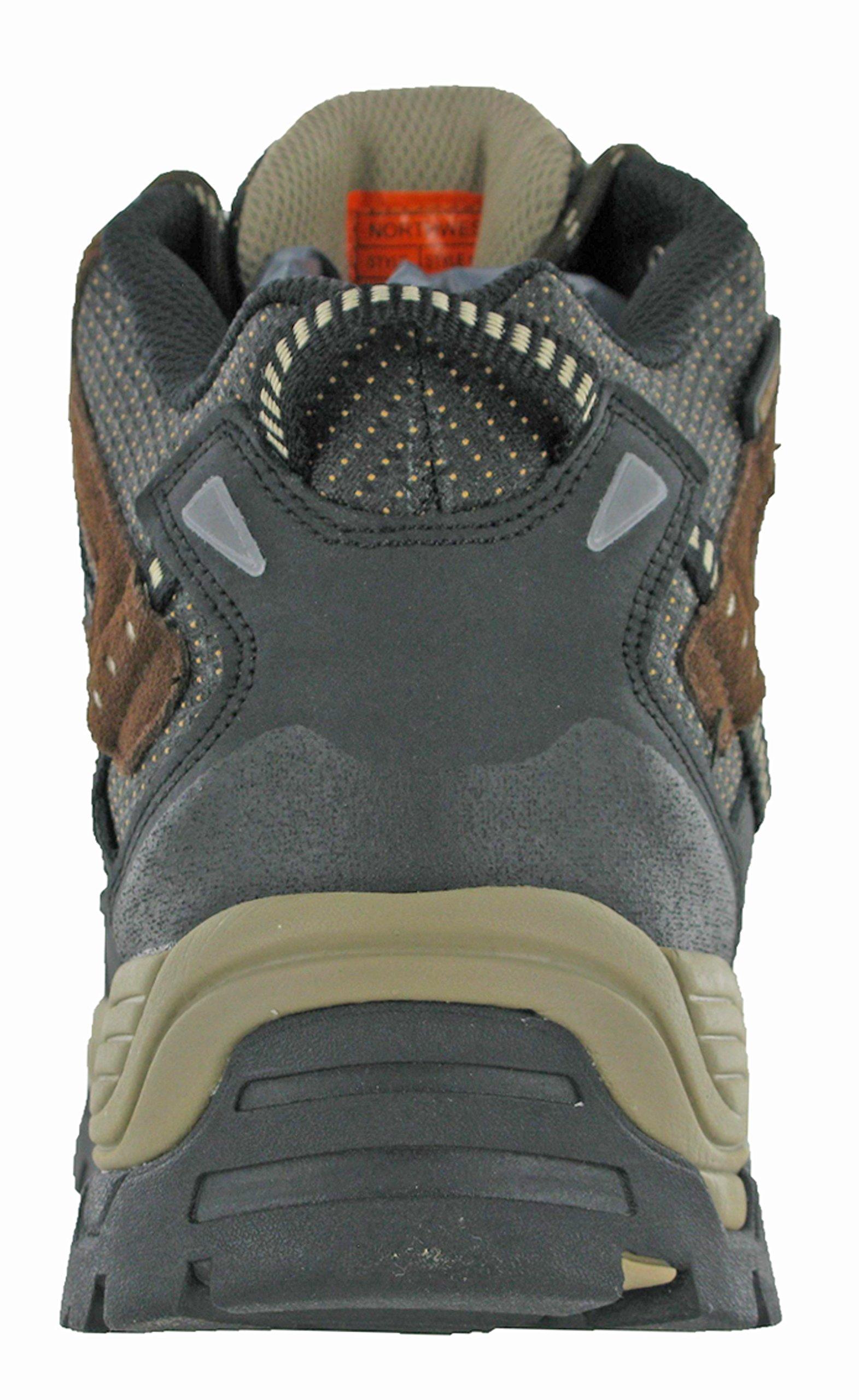 Northwest Mens Piers Hi Cut Brown/Beige Ankle Walking Boots 5