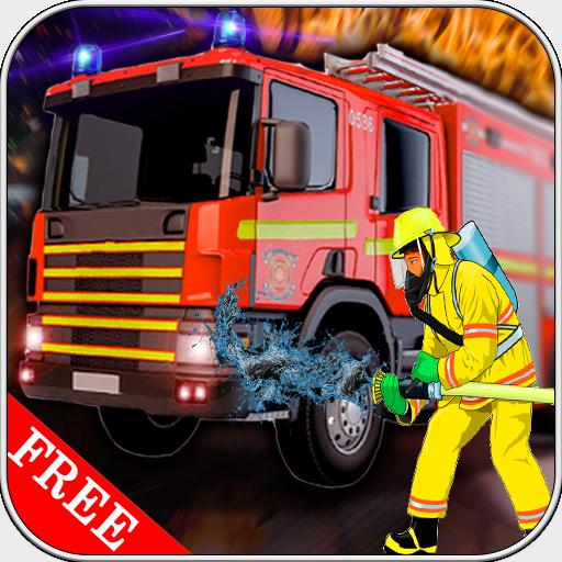 Fishdom Spiele (911 Notfall Feuerwehrauto Truck Simulator)