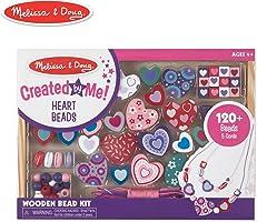 Melissa & Doug 14175 Ahşap Boncuk Dizme Tatlı Kalpler