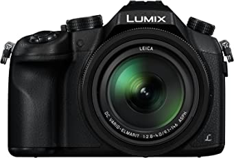 Panasonic Lumix DMC-FZ1000GA Digital Camera F2.8-4.0 (Black) With Free Ultra 32 GB SD card & Camera Case