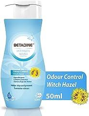 Betadine Intimate Wash - Odour Control Witch Hazel, 50 ml (7640168160845)