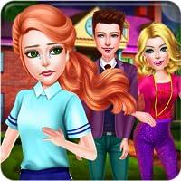Vampire Histoire d'amour & Liaison Amoureuse - Un jeu de fantasy fantastique pour les adolescents pour découvrir un triangle amoureux inhabituel