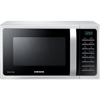 Samsung MC28H5015AW Forno a Microonde, 900 W, Grill 1500 W, 28 l, Bianco