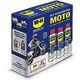 WD-40 Specialist Moto • Kit Entretien Moto • un Nettoyant Chaîne • un Lubrifiant Chaîne • un Lustreur Silicone • Solution 3 e