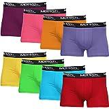 MERISH Bóxer Hombre Pack de 8 Multicolor Algodon Calzoncillos Hombres Boxers