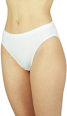 81OVJQRg4nL._UY445_ 3 x new ladies underwear full briefs womens knickers cotton,Womens Underwear Amazon