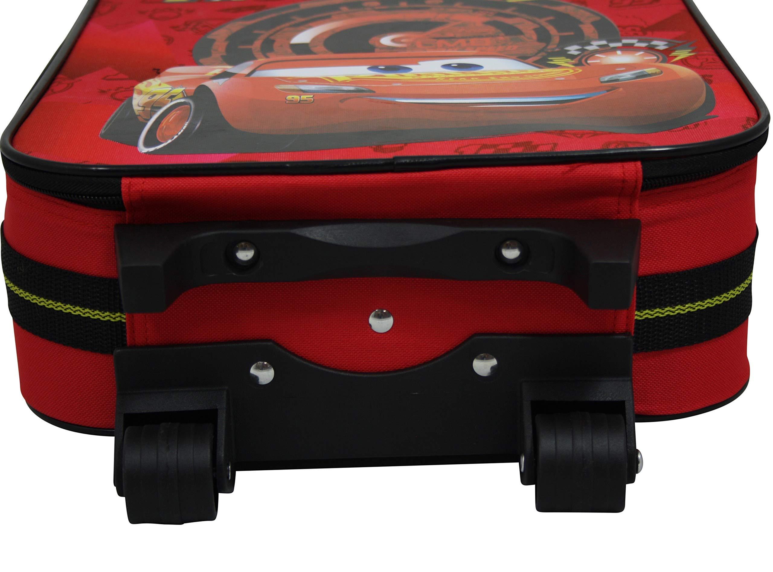 Disney-Cars-Koffer-Trolley-Kinderkoffer-Reisekoffer-Auto-McQueen-Handgepck-8111