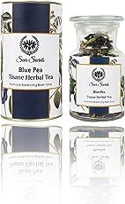 Seer Secrets Blue Pea Tisane Herbal Tea│Hormone Balancing Brain Tonic, More Than 100 Cups (20 GMS)