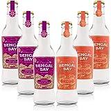 Bengal Bay Duo Box: Indian Tonic Water + Spiced Orange & Basil Tonic, 100% Natural with Organic Ingredients, Less Than…