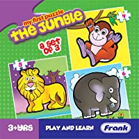 Frank The Jungle Puzzle For 3 Year Old Kids And Above
