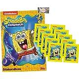 zus/ätzlich 1 x Sticker-und-co Bonbon 5 T/üten DE Topps Spongebob Sticker 2020 Sie erhalten