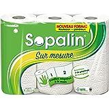 Sopalin Essuie-Tout sur Mesure Blanc 3 = 6 Rouleaux