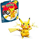 Mega Construx Pokemon Pikachu à construire, jeu de briques de construction, 211 pièces, pour enfant dès 7 ans, GMD31
