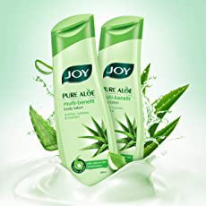 Joy Pure Aloe Multi-Benefit Moisturizing Body Lotion, For All Skin Type, Ideal For Men & Women (Pack of 2 X 300ml)