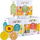 Zutec - Capsules de Jus Assortis (Orange, Ananas et Pêche) - Compatibles avec les machines à café Nescafé Dolce Gusto®* - 3 P