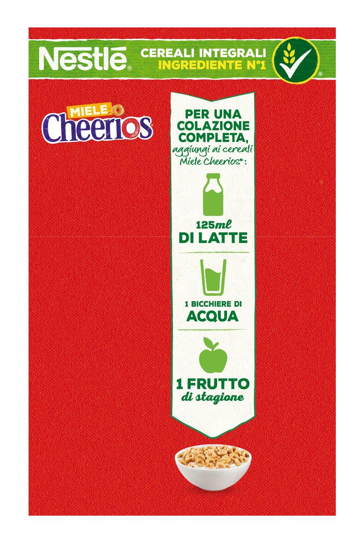 Cheerios Miele Ciambelline ai Cereali Integrali con Miele - 375 gr 2 spesavip