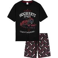 Harry Potter Mens Pyjamas, Cotton Summer Short PJs, Harry Potter Gifts For Men