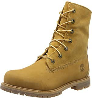 Timberland Boots gefüttert FOLD DOWN WARM LINED WHEAT
